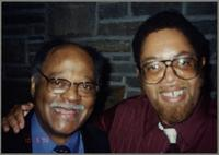 Clark Terry and Mike Woods [photograph, front]