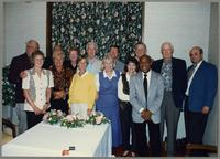 Group photograph at the 1997 Hamilton Fallcoming [photograph, front]