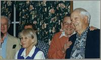Bobby Rosengarden, Nancy Abelon, Ralph Sutton, and Bob Haggart [photograph, front]