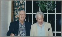Bob Haggart and Bobby Rosengarden [photograph, front]