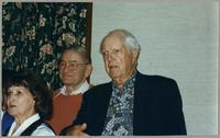 Nelma Fillius, Ralph Sutton, and Bob Haggart [photograph, front]