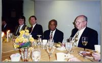 Anne Nenneau, Fillius, Tony, Joe Wilder, and unknown man [photograph, front]