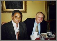 Frank Wess and Dave McKenna [photograph, front]
