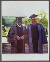 Joe Williams and Milt Fillius Jr. [photograph, front]