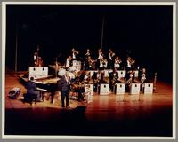 Joe Williams and the Count Basie Orchestra [photograph, front]