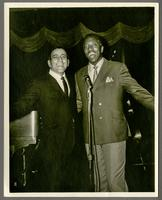 Tony Bennett and Joe Williams [photograph, front]