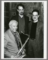 Frank Foster, Jim Johns, and Joe Ferlo [photograph, front]