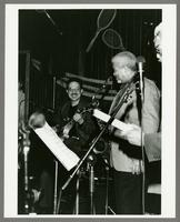 Joe Ferlo and Frank Foster [photograph, front]