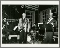Joe Ferlo, Frank Foster, Jim Johns, and Mike Woods [photograph, front]