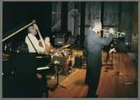Rick Montalbano, Keter Betts, Duffy Jackson, and Wendell Brunious [photograph, front]
