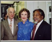 Dick Hyman, Mariane [sick] McPartland, and Roland Hanna [photograph, front]
