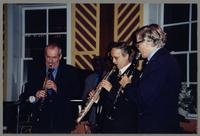 Kenny Davern, Keter Betts, Monk Rowe, and Bob Wilber [photograph, front]