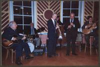 Bucky Pizzzarelli, Chuck Riggs, Monk Rowe, Greg Cohen, Kenny Davern, and James Chirillo [photograph, front]