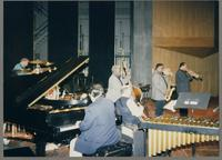 Ed Shaughnessy, Rick Montalbano, Keter Betts, Carmen Caramanica, Houston Person, and Byron Stripling [photograph, front]