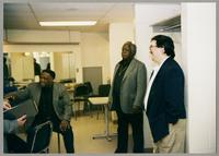 Houston Person, Keter Betts, and Rick Montalbano [photograph, front]