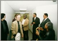 Rick Montalbano, Monk Rowe, Keter Betts, Wendell Brunious, Mike Woods, and Robert Watson [photograph, front]