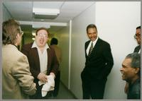 Monk Rowe, Duffy Jackson, Wendell Brunious, Robert Watson, and Mike Woods [photograph, front]
