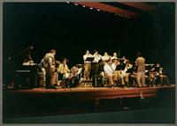 Duffy Jackson, Hamilton College Jazz Ensemble, and Monk Rose [photograph, front]