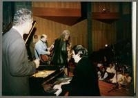 Wendell Brunious, Carmen Caramanica, Robert Watson, and Rick Montalbano [photograph, front]