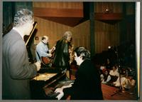 Wendell Brunious, Carmen Caramanica, Robert Watson, and Rick Montalbano [photograph, front]
