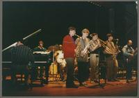 Carmen Caramanica and the Solvay Jazz Combo [photograph, front]
