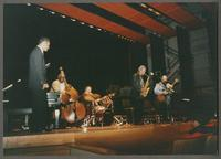 Wendell Brunious, Keter Betts, Duffy Jackson, Robert Watson, and Carmen Caramanica [photograph, front]