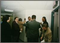 Rick Montalbano, Duffy Jackson, Keter Betts, Wendell Brunious, Mike Woods, Robert Watson, and Monk Rowe [photograph, front]