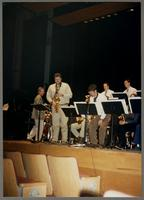 Hamilton College Jazz Ensemble [photograph, front]