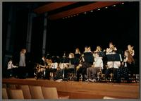 Sauquoit High School Jazz Ensemble [photograph, front]